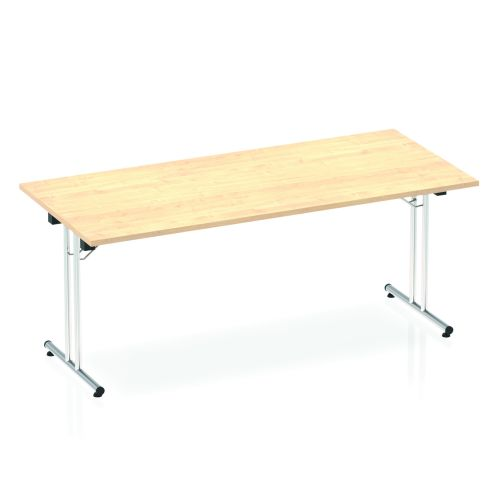 Impulse 1800 Folding Rectangular Table Maple