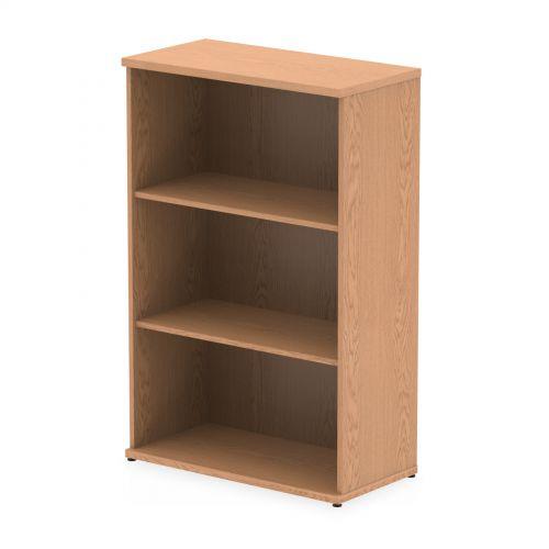 Impulse 1200 Bookcase Oak