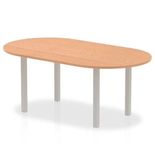 Impulse 1800 Boardroom Table Oak