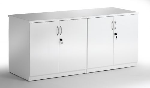 Credenza 1600 Cupboard High Gloss White