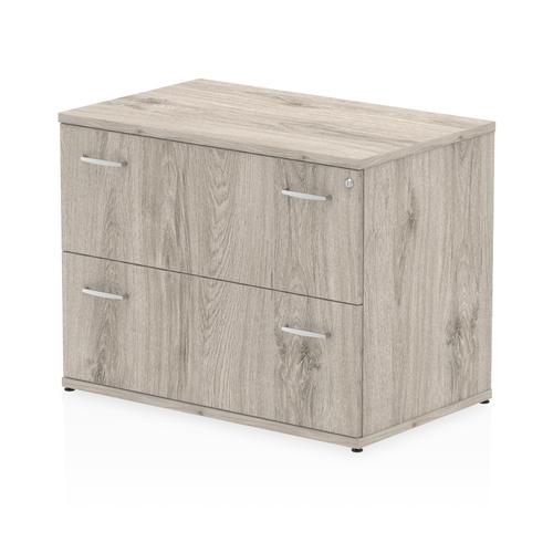 Impulse Side Filer Grey Oak