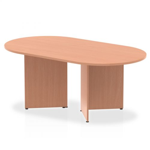 Impulse 1800 Boardroom Table Beech