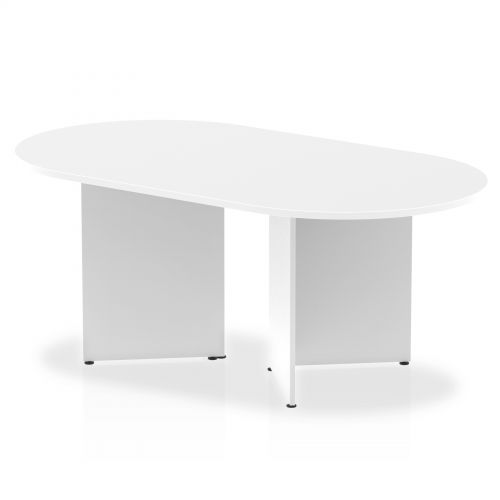 Impulse 1800 Boardroom Table White