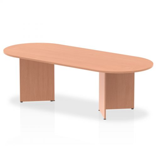 Impulse 2400 Boardroom Table Beech
