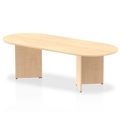 Impulse 2400 Boardroom Table Maple