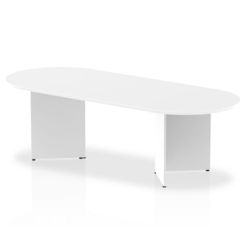 Impulse 2400 Boardroom Table White