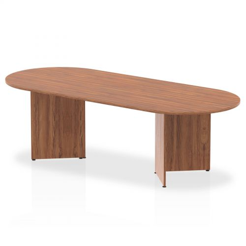 Impulse 2400 Boardroom Table Walnut