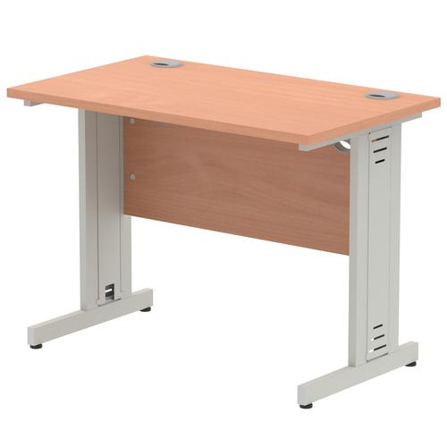 Impulse Cable Managed 1000 Rectangle Desk Beech