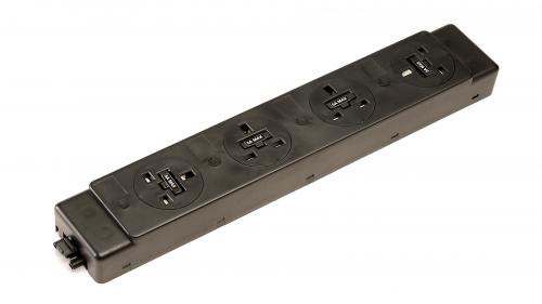 Impulse 4 x UK Sockets (5A) No Switches