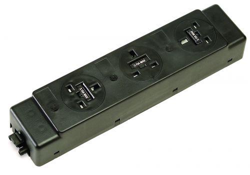 Impulse 3 x UK Sockets ( 3.15A) No Switches