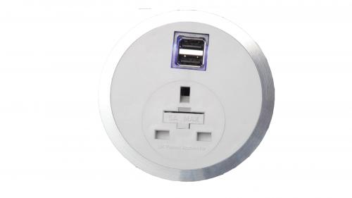 Impulse Port-EL 1 x UK Socket 1 x Smart Charge