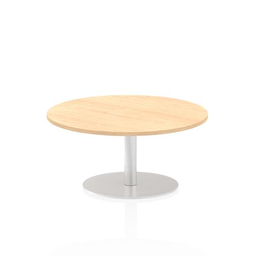 Italia Poseur Table Round 1000 Top 475 High Maple