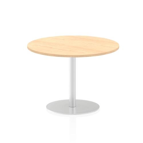Italia Poseur Table Round 1000 Top 725 High Maple