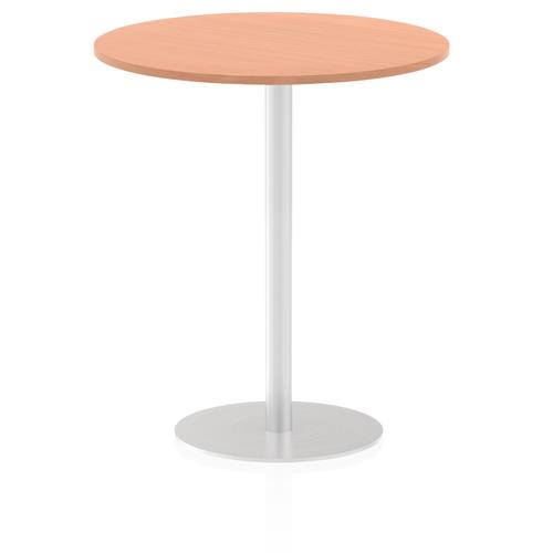 Italia Poseur Table Round 1000 Top 1145 High Beech