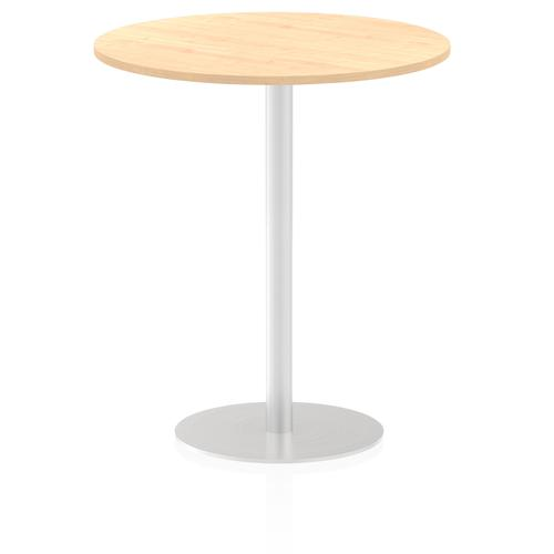 Italia Poseur Table Round 1000 Top 1145 High Maple