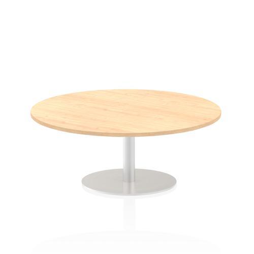 Italia Poseur Table Round 1200 Top 475 High Maple