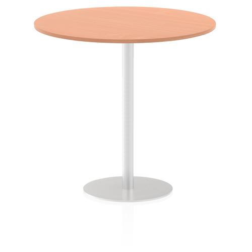 Italia Poseur Table Round 1200 Top 1145 High Beech