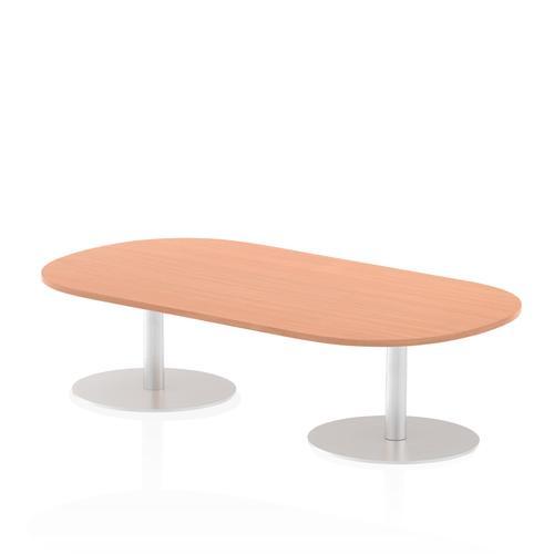 Italia Poseur Boardroom Table 1800 Top 475 High Beech