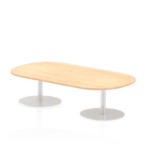 Italia Poseur Boardroom Table 1800 Top 475 High Maple