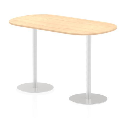 Italia Poseur Boardroom Table 1800 Top 1145 High Maple