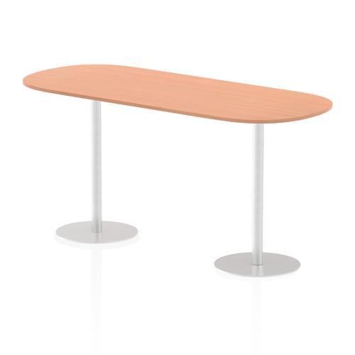 Italia Poseur Boardroom Table 2400 Top 1145 High Beech