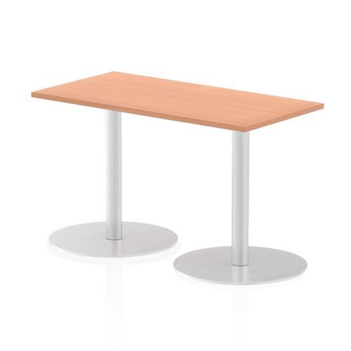 Italia Poseur Table Rectangle 1200/600 Top 725 High Beech