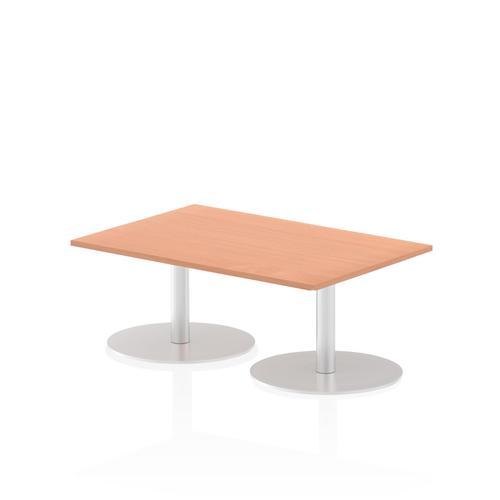 Italia Poseur Table Rectangle 1200/800 Top 475 High Beech