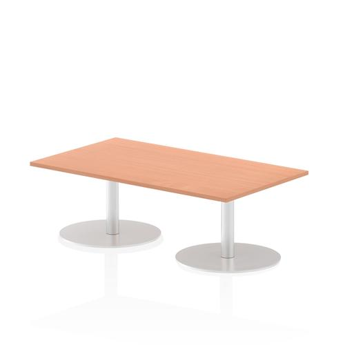 Italia Poseur Table Rectangle 1400/800 Top 475 High Beech