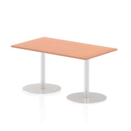 Italia Poseur Table Rectangle 1400/800 Top 725 High Beech