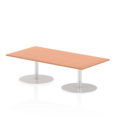 Italia Poseur Table Rectangle 1600/800 Top 475 High Beech