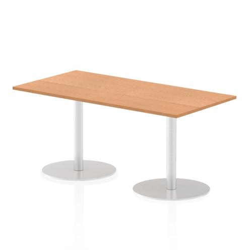 Italia Poseur Table Rectangle 1600/800 Top 725 High Oak