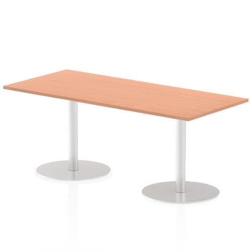 Italia Poseur Table Rectangle 1800/800 Top 725 High Beech