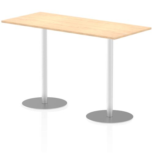 Italia Poseur Table Rectangle 1800/800 Top 1145 High Maple