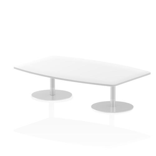 Italia Poseur Table High Gloss 1800 Top 475 High White