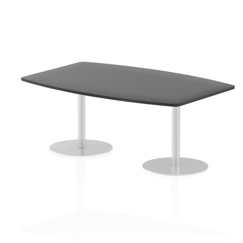 Italia Poseur Table High Gloss 1800 Top 725 High Black