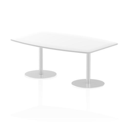 Italia Poseur Table High Gloss 1800 Top 725 High White