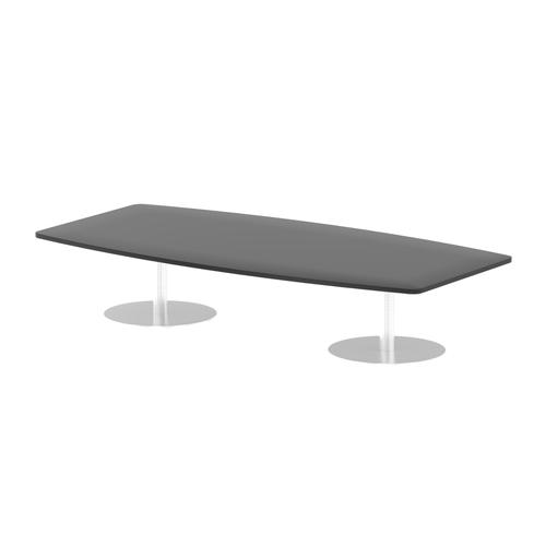 Italia Poseur Table High Gloss 2400 Top 475 High Black