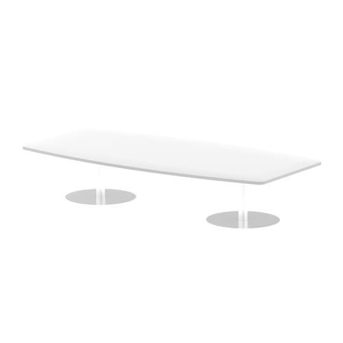 Italia Poseur Table High Gloss 2400 Top 475 High White