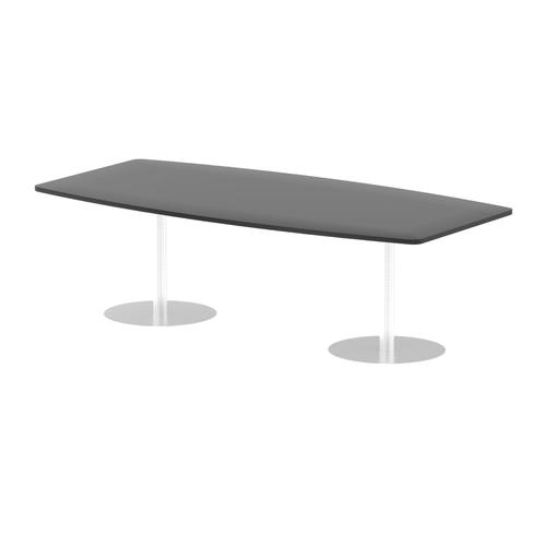 Italia Poseur Table High Gloss 2400 Top 725 High Black