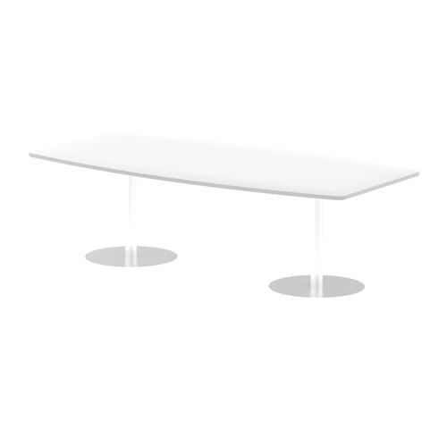 Italia Poseur Table High Gloss 2400 Top 725 High White