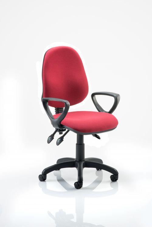 Eclipse Plus III Chair Wine Loop Arms KC0042