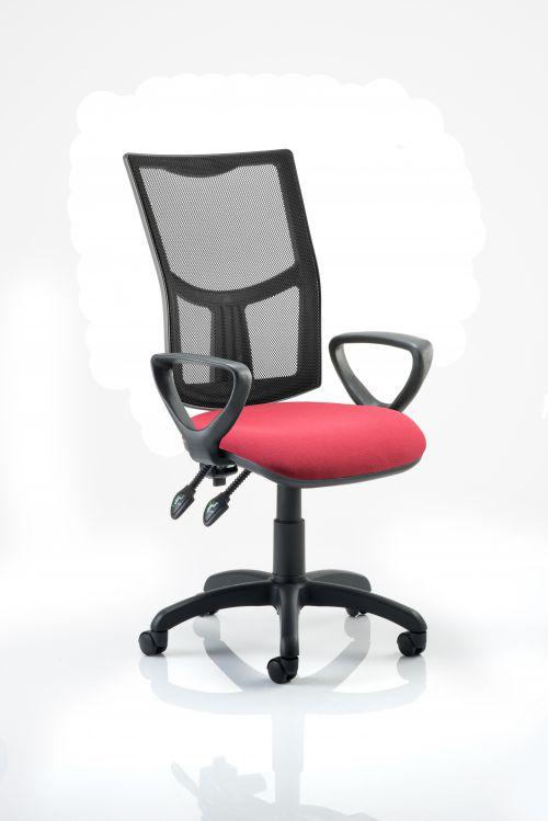 Eclipse Plus II Mesh Chair Wine loop Arms KC0177