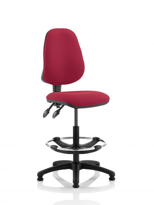 Eclipse Plus II Chair Wine Hi Rise Kit KC0253