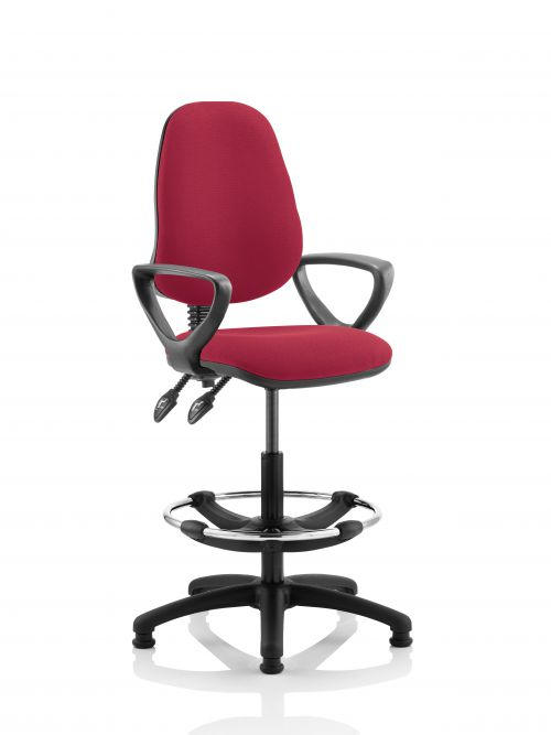 Eclipse Plus II Chair Wine Loop Arms Hi Rise Kit KC0257
