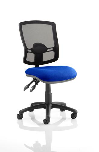 Eclipse Plus II Mesh Deluxe Chair Blue KC0306