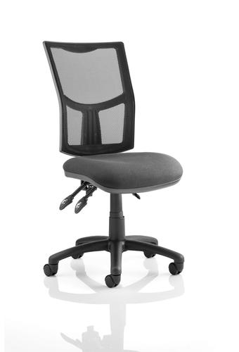 Eclipse Plus III Chair Mesh Back With Charcoal Seat KC0380