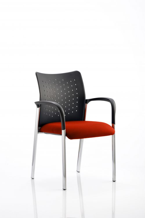 Academy Bespoke Colour Seat With Arms Orange