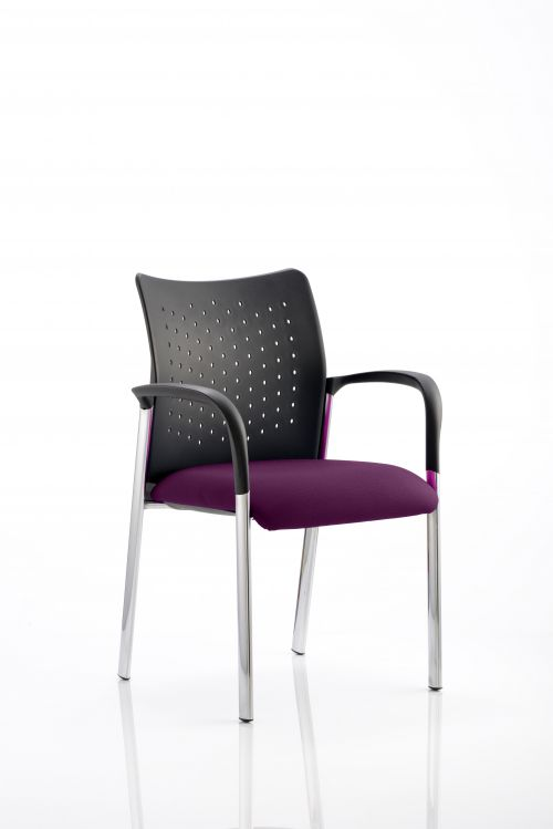 Academy Bespoke Colour Seat With Arms Purple