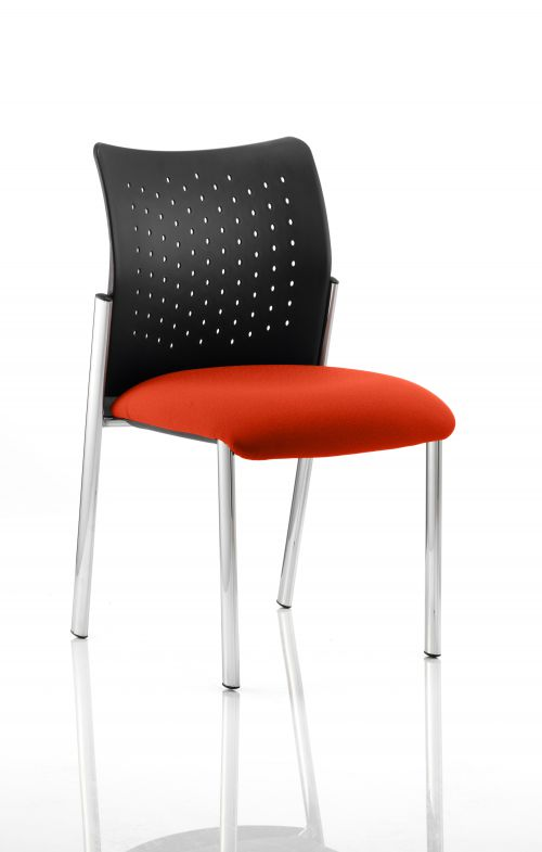 Academy Bespoke Colour Seat Without Arms Orange