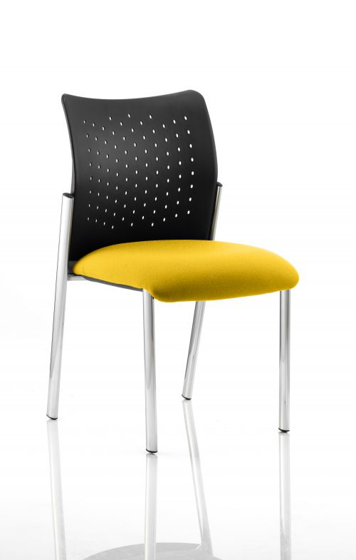 Academy Bespoke Colour Seat Without Arms Yellow